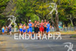 Lead pack running at the 2013 Cali World Games -…