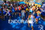 Men's race start at the 2013 Cali World Games -…