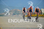 Chasing pack riding at the 2013 Cali World Games -…