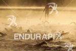 20130901 - WAISMES, BELGIUM: Illustration picture shows triathletes swimming in…
