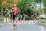 Australia's Joe Gambles running at the 2013 Ironman 70.3 World…