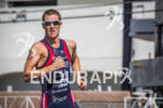 Jarrod Shoemaker on run at the Super Sprint Triathlon Grand…