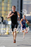 Ben Collins (USA) on run at the Super Sprint Triathlon…