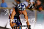 Jason Pederson on bike at the Super Sprint Triathlon Grand…