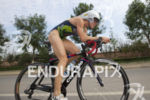 Jenna Parker during the bike leg at the 2013 Beijing…