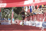 Lisa Norden is victorious at the 2013 Beijing International Triathlon…