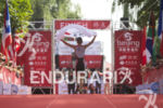 Age groupers finishing at the 2013 Beijing International Triathlon on…