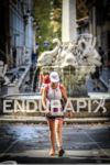 Participant walks on the run course of the 2013 Ironman…
