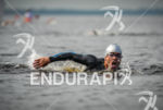 Stong swimmer at the 2013 Manaus ITU Sprint Triathlon Pan…