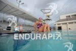 Anja Beranek of Germany at Aquatic Center in Kailua-Kona at…