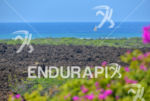 The 4 elements of the ironman Hawaii: flowers, lava, beach…