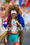 Ironman World Champion Mirinda Carfrae showing love to her supporters…