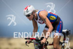 Leanda Cave out of the saddle on the bike at…