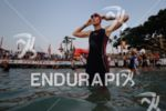 Leanda Cave (GBR) prepares for the swim start of the…