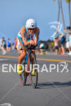 Mirinda Carfra riding at the 2013 Ironman World Championship in…