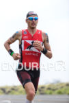 Timo Brachtrunning at the 2013 Ironman World Championship in Kailua-Kona,…