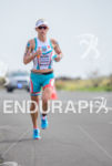 Mirinda Carfrae flying on the run at the 2013 Ironman…