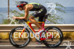 Jordan Rapp on bike at the Ironman World Championship in…