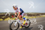 Tim O'Donnell on his custom Trek bike at the Ironman…