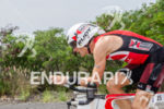 Timo Bracht on bike at the Ironman World Championship in…