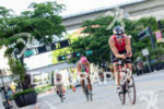 Leon Griffin riding at the 2013 Ironman 70.3 Miami in…