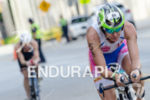 Erika Csomor riding at the 2013 Ironman 70.3 Miami in…
