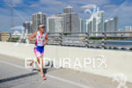 Erika Csomor running on the McCarthur Causeway at the 2013…
