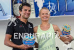 Terenzo Bozzone and Helle Frederiksen, the champions at the 2013…