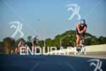 Dorian Wagner riding fast at  the 2013 Ironman Florida in…