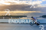 Chris Boudreaux riding at  the 2013 Ironman Florida in Panama…
