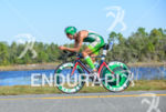 Victor del Corral riding at  the 2013 Ironman Florida in…