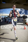 Jens Petersen-Bach in hot pursuit during the run at Ironman…