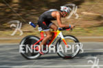 Javier Gomez riding fast at the 2014 Ironman 70.3 Panama…