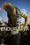Heather Jackson (USA) preps for the race at the Ironman…