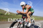 Heather Wurtele (CAN) during the bike leg at the Ironman…