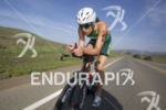 Heather Wurtele (CAN) racing through Camp Pendelton at the Ironman…