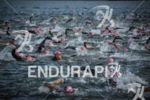 Age groupers swim at the 2014 Ironman 70.3 Brasilia in…