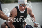 Mirinda Carfrae exists the water at the 2014 Ironman 70.3…