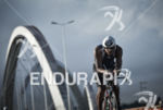 Age grouper riding on the bike at the 2014 Ironman…