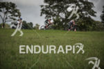 Age groupers riding among trees riding on the bike at…
