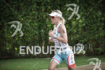 Mirinda Carfrae running at the 2014 Ironman 70.3 Brasilia in…