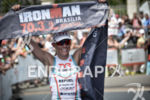 Mirinda Carfrae wins the 2014 Ironman 70.3 Brasilia in Brasilia,…