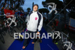 Martina Dogana in the transition area before 2014 Cannes International…