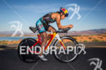 Angela Naeth on bike early in the race at the…