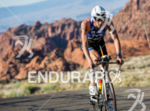 Andy Potts (USA) on bike through Snow Canyon State Park…