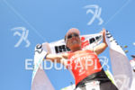 Romain Guillaume at the finish of the 2014 Ironman Lanzarote…