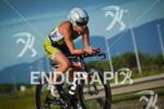 Sara Gross riding for victory at the 2014 Ironman Florianopolis…