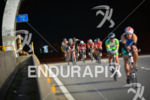 A controversial pack at the 2014 Ironman Florianopolis in Florianopolis,…