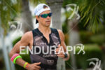 Igor Amorelli running at the 2014 Ironman Florianopolis in Florianopolis,…