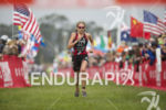 Sarah Haskins is victorious at Escape From Alcatraz Triathlon on…